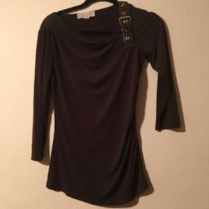Michael Kors brown blouse